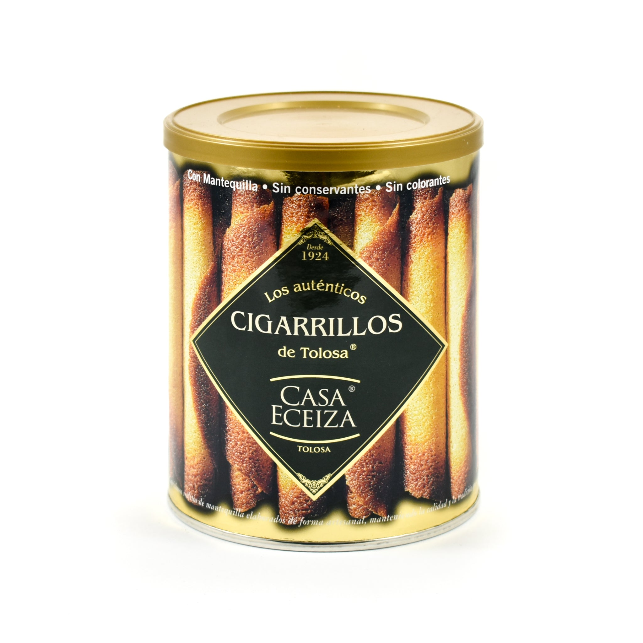 Casa Eceiza Cigarrillos 160g Ingredients Chocolate Bars & Confectionery Spanish Food
