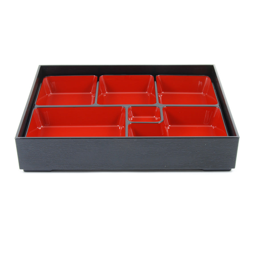 Kiji Stoneware & Ceramics Classic Bento Box - 6 Compartment Cookware Japanese Food