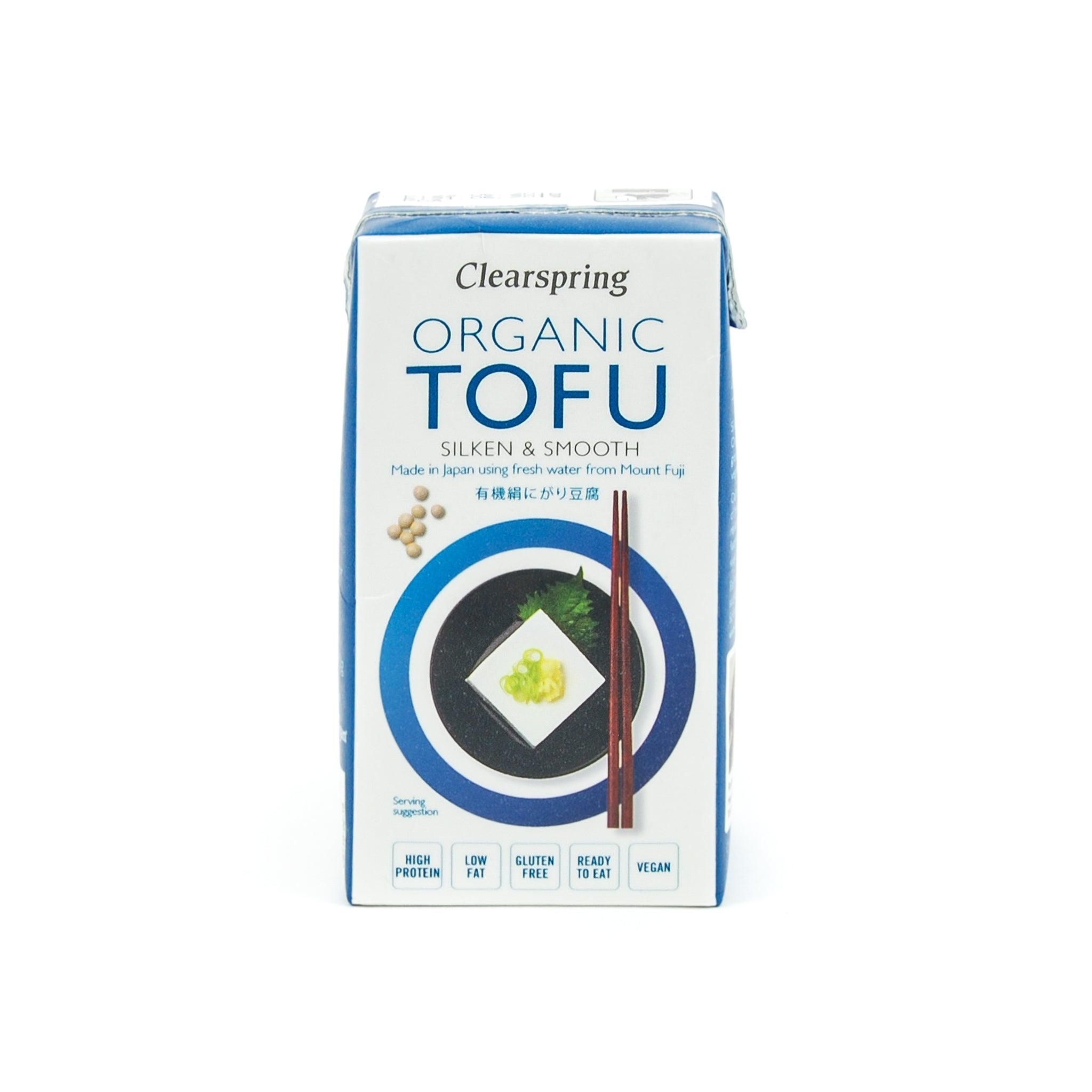 Clearspring Organic Tofu 300g Ingredients Tofu & Beans & Pulses Japanese Food