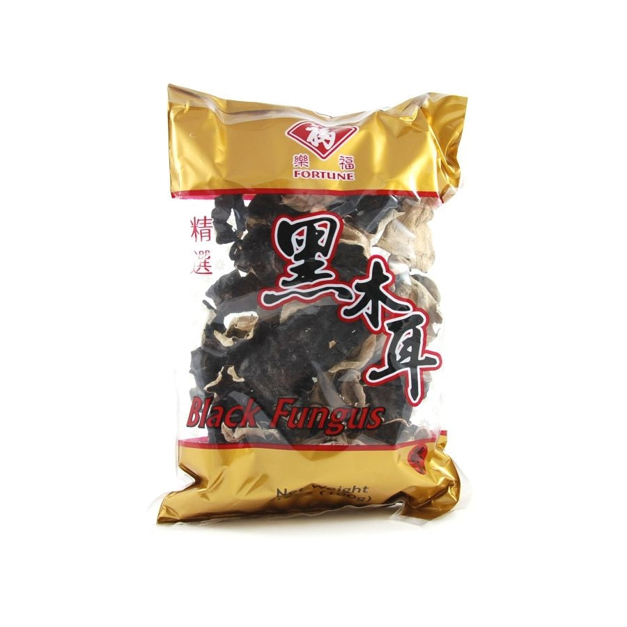 Chinese Ingredients Black Fungus - Wood Ear 100g Ingredients Mushrooms & Truffles Chinese Food