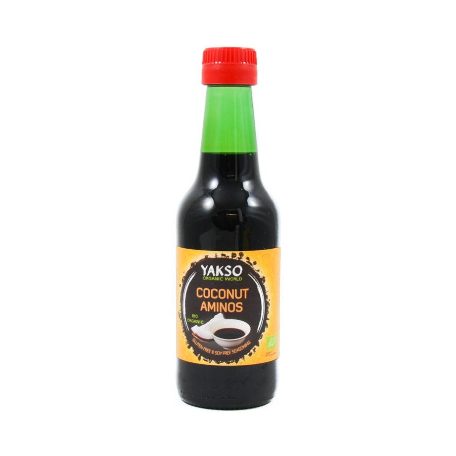 Yakso Coconut Aminos 250ml Ingredients Sauces & Condiments American Sauces & Condiments