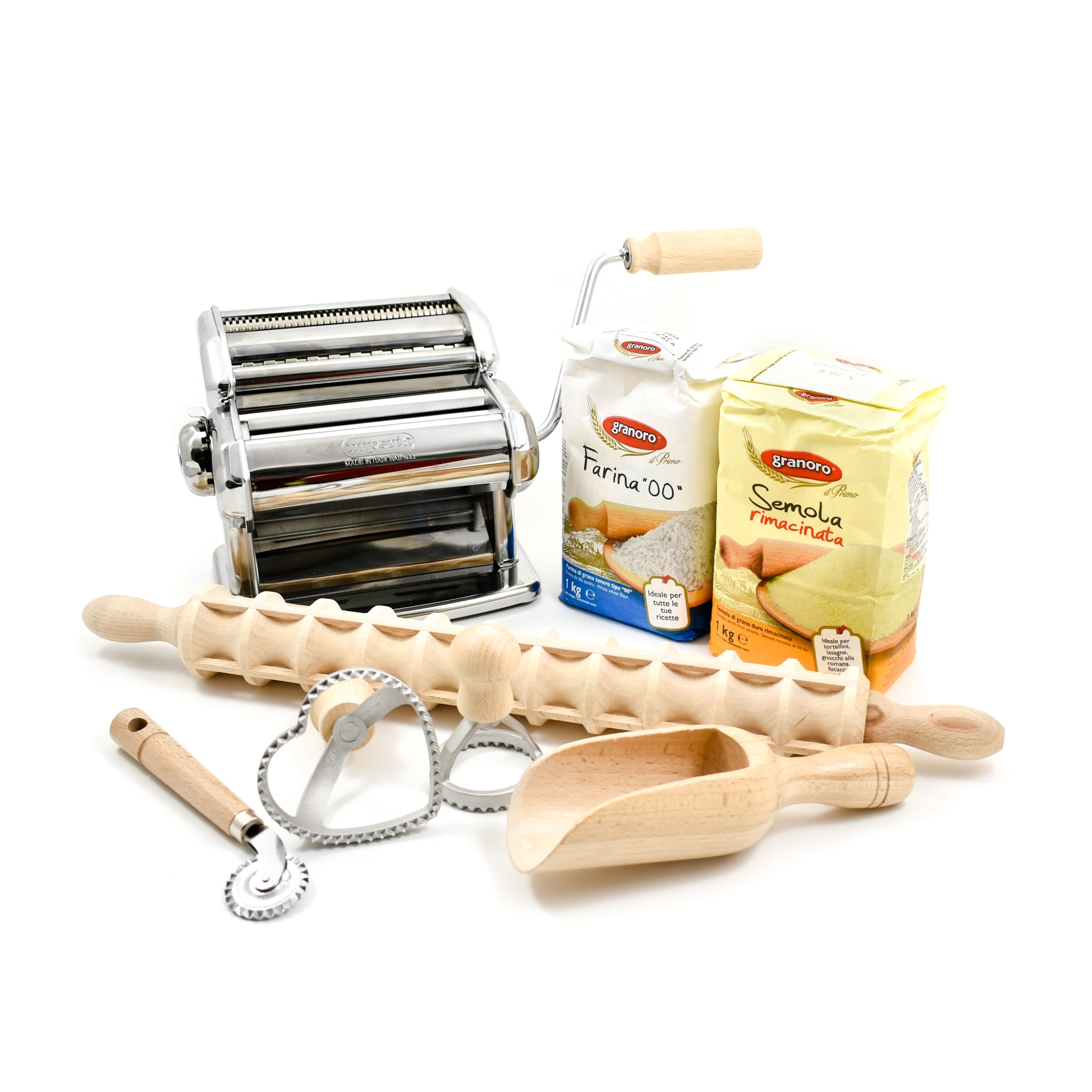 Sous Chef Kit Complete Pasta Making Kit Gifts Cookbook & Ingredients Sets