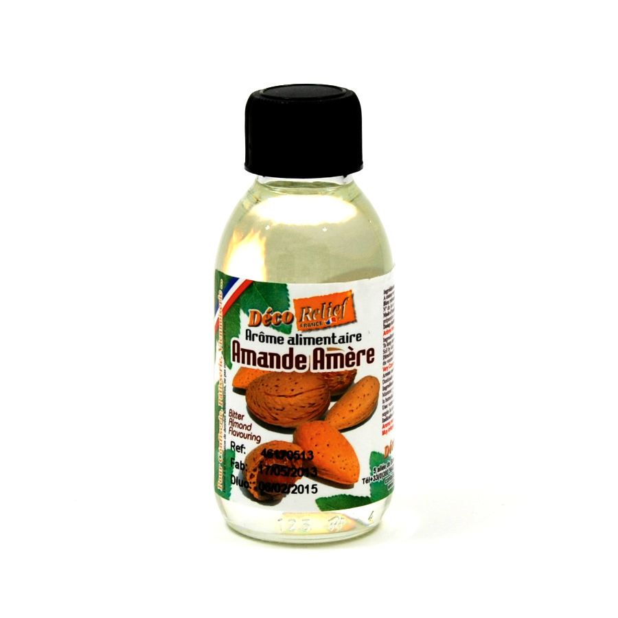 Deco Relief Concentrated Bitter Almond Flavour 125ml Ingredients Flavours & Colours French Food