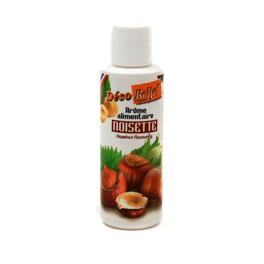 Deco Relief Concentrated Hazelnut Flavour 125ml Ingredients Flavours & Colours French Food