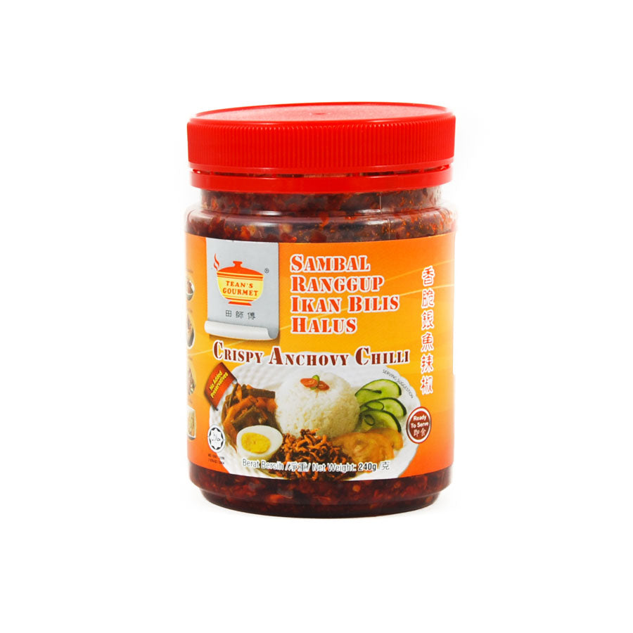 TG Crispy Anchovy Chilli 240g Ingredients Sauces & Condiments Asian Sauces & Condiments Chinese Food