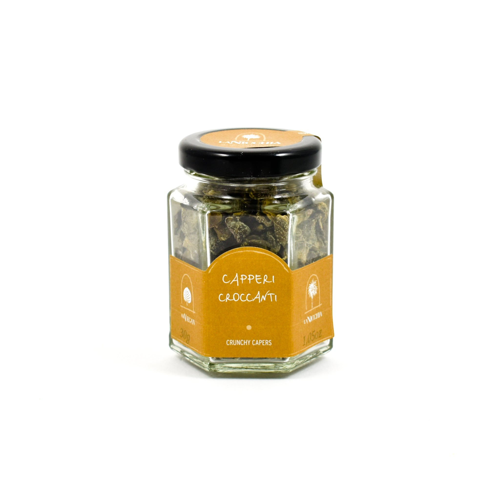 La Nicchia Crunchy Capers 30g Ingredients Pickled & Preserved Vegetables Italian Food
