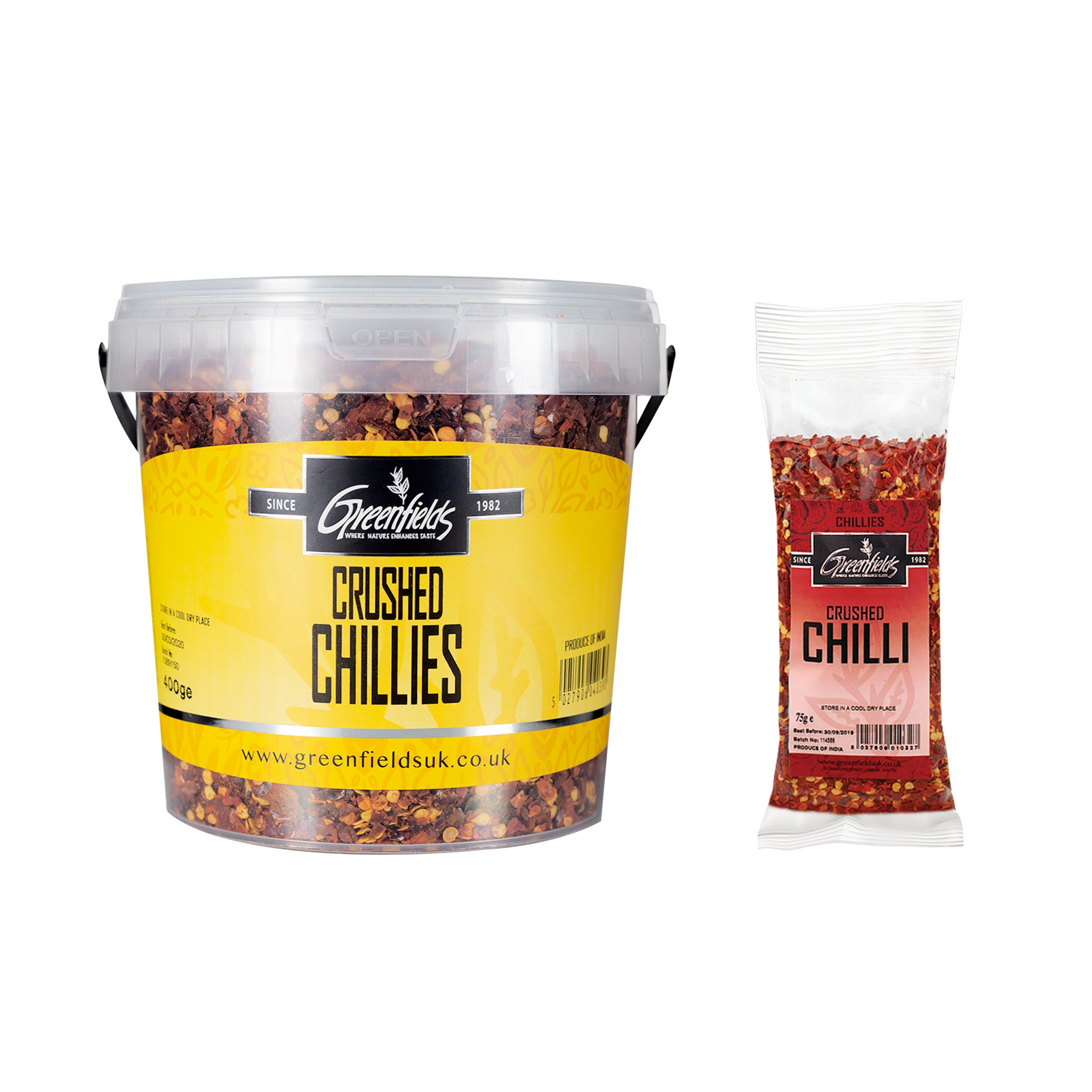 Greenfields Crushed Chillies