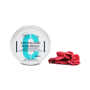 Crystallised Rose Petals 40g