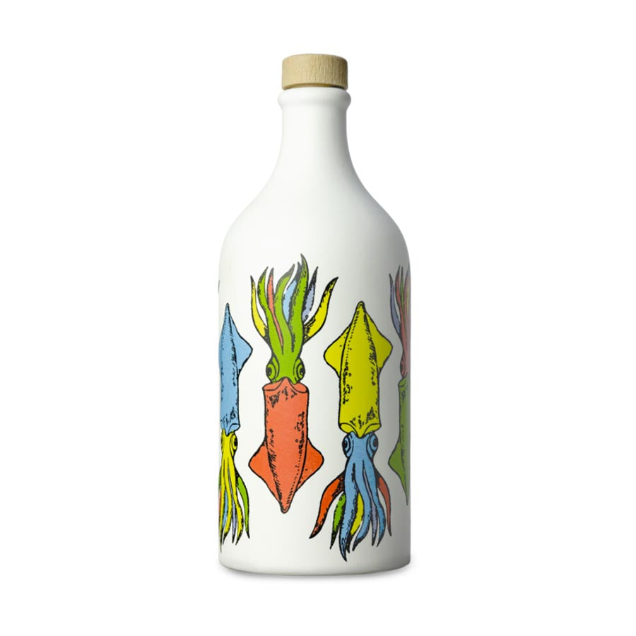 Medium Fruity Extra Virgin Olive Oil in Cuttlefish Terracotta Bottle