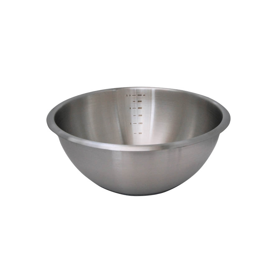 De Buyer Hemisphere Mixing Bowl with Silicone Base 16cm