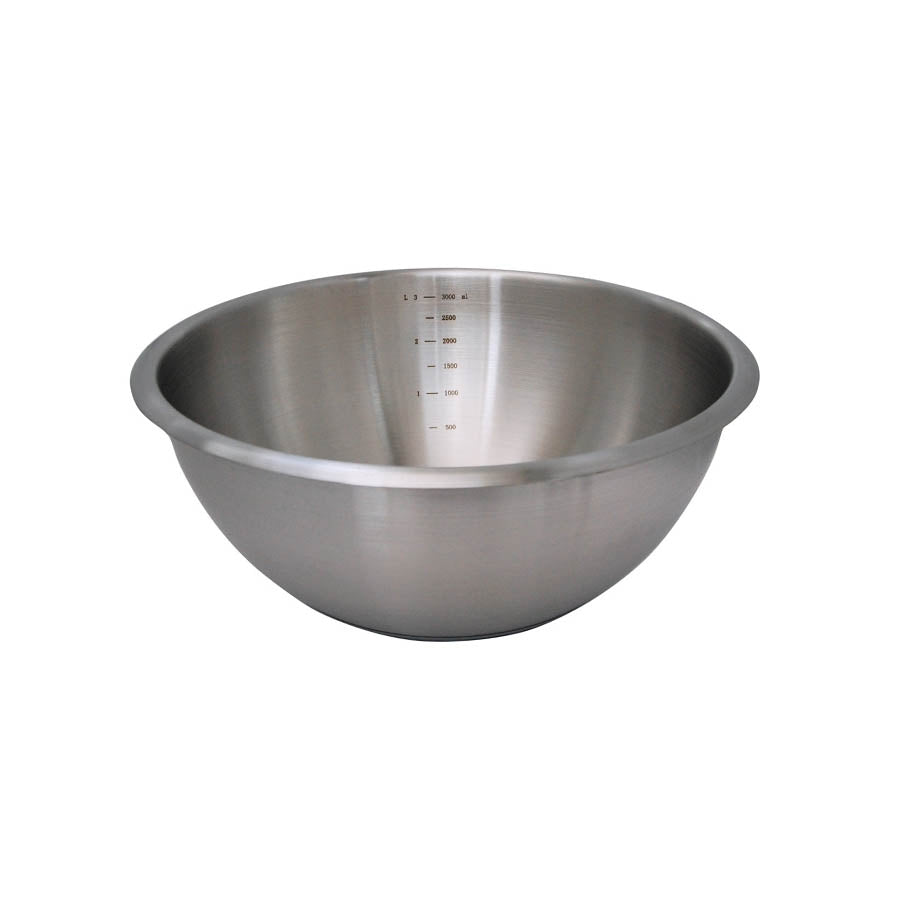 De Buyer Hemisphere Mixing Bowl with Silicone Base 20cm Cookware Bakeware & Roasting French Food