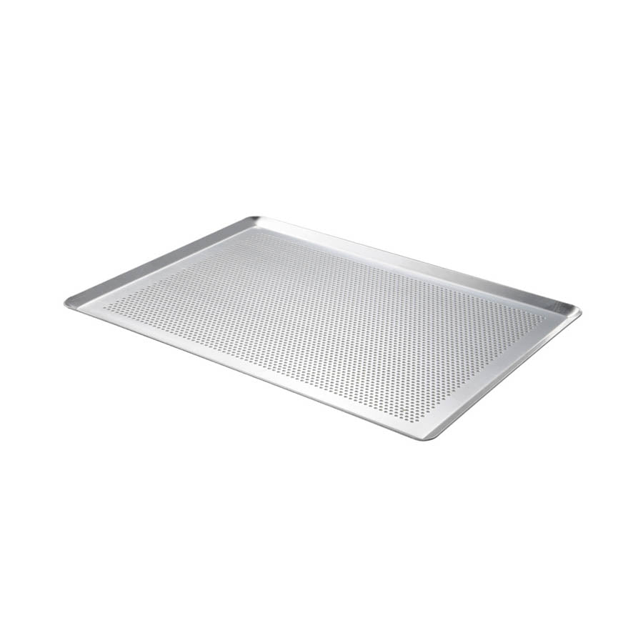 De Buyer Micro-Perforated Baking Tray With Edges Cookware Bakeware & Roasting French Food