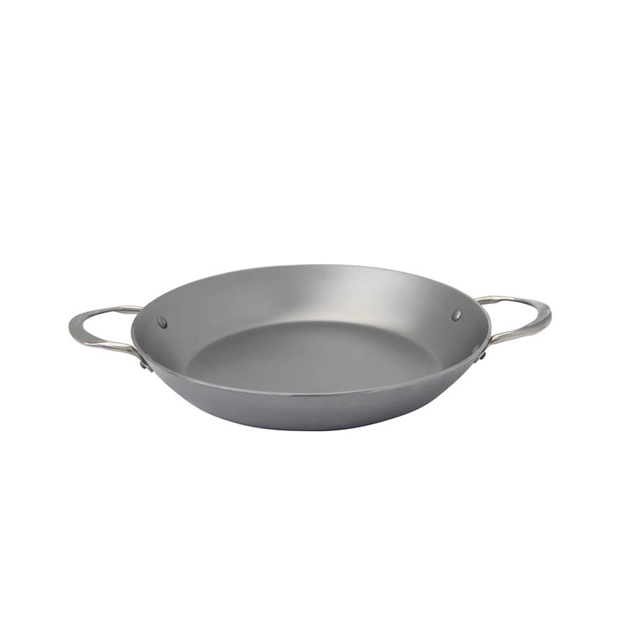De Buyer Mineral B Paella Pan 32cm Cookware Pots & Pans French Food