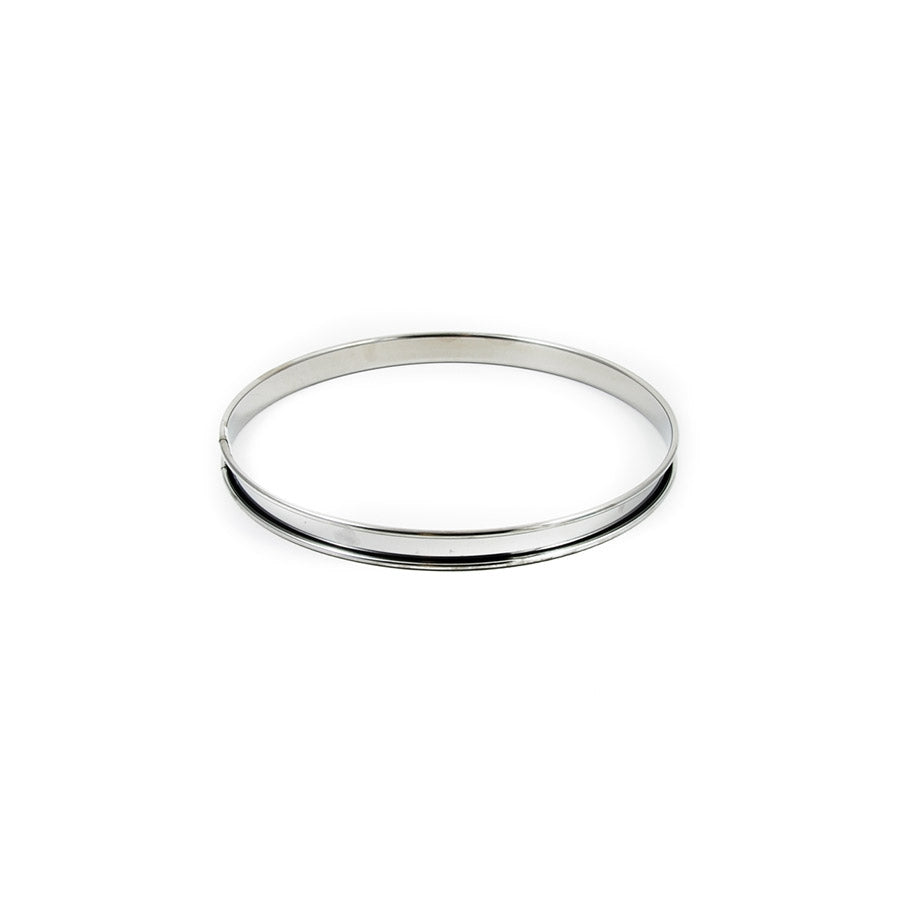 De Buyer Stainless Steel Tart Ring 12cm Cookware Bakeware & Roasting French Food