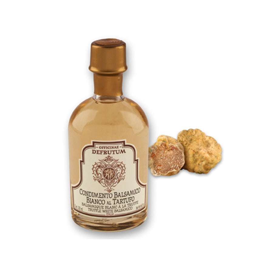 Defrutum Truffle Flavoured White Balsamic Condiment 250ml Ingredients Oils & Vinegars Italian Food