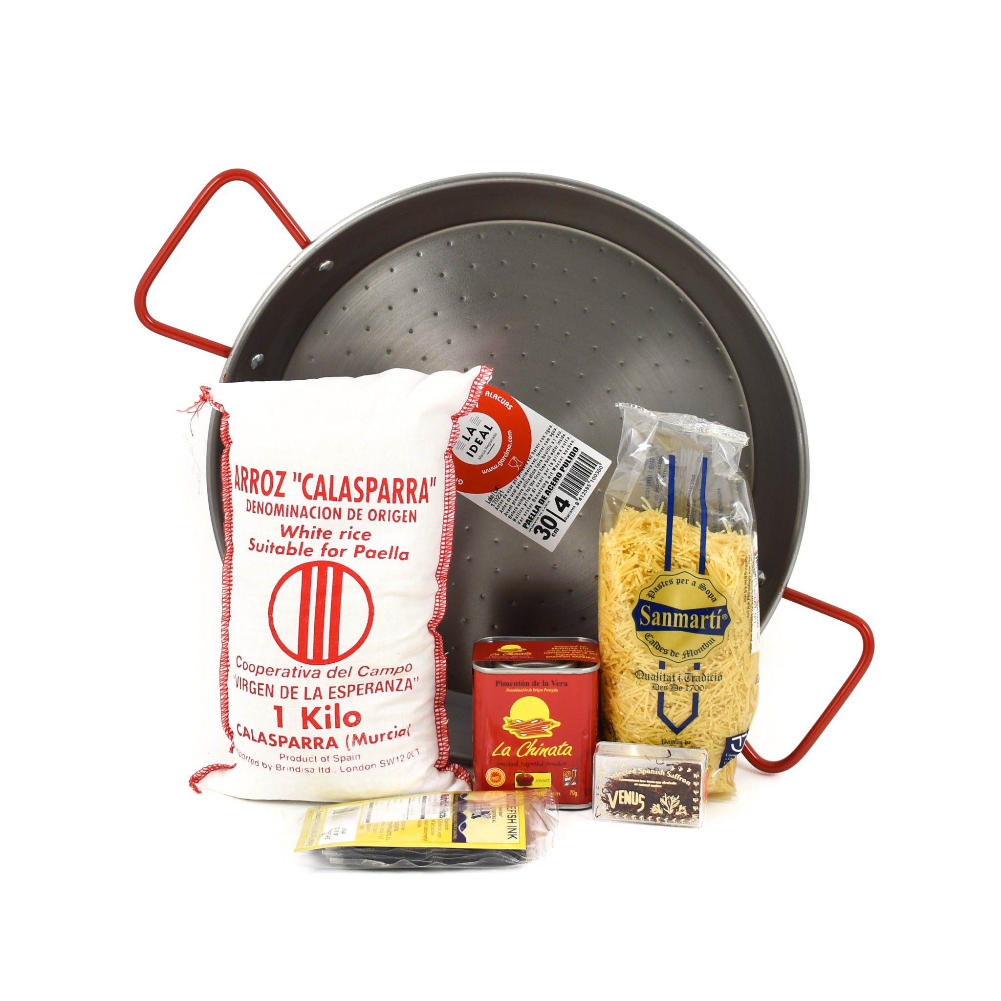 Sous Chef Kit Deluxe Paella Set Gifts Spanish Food