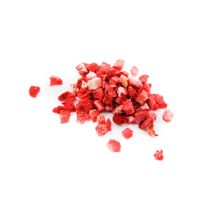 Freeze-Dried Diced Strawberries