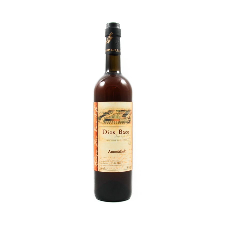 Dios Baco Amontillado Sherry 750ml Ingredients Drinks Alcohol Spanish Food