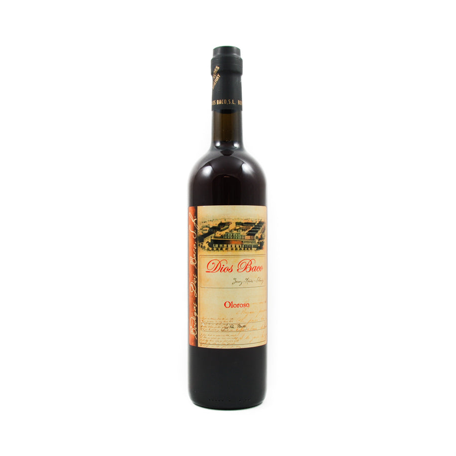 Dios Baco Oloroso Sherry 750ml Ingredients Drinks Alcohol Spanish Food