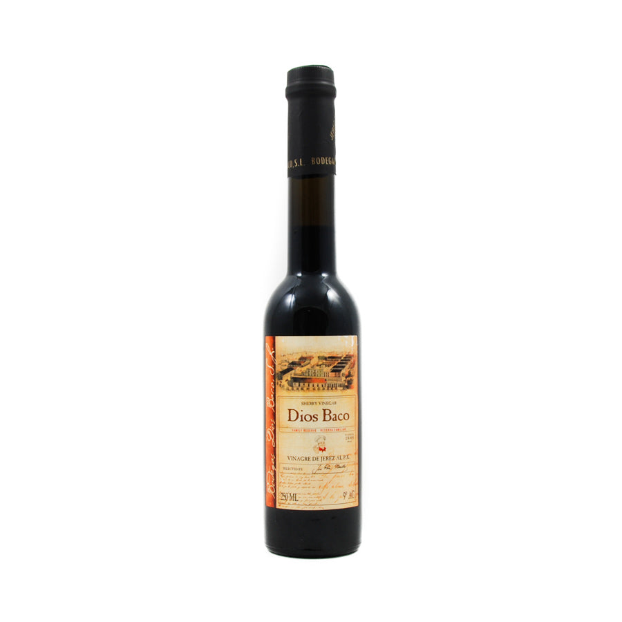 Dios Baco Sherry Vinegar With Pedro Ximenez 250ml Ingredients Oils & Vinegars Spanish Food