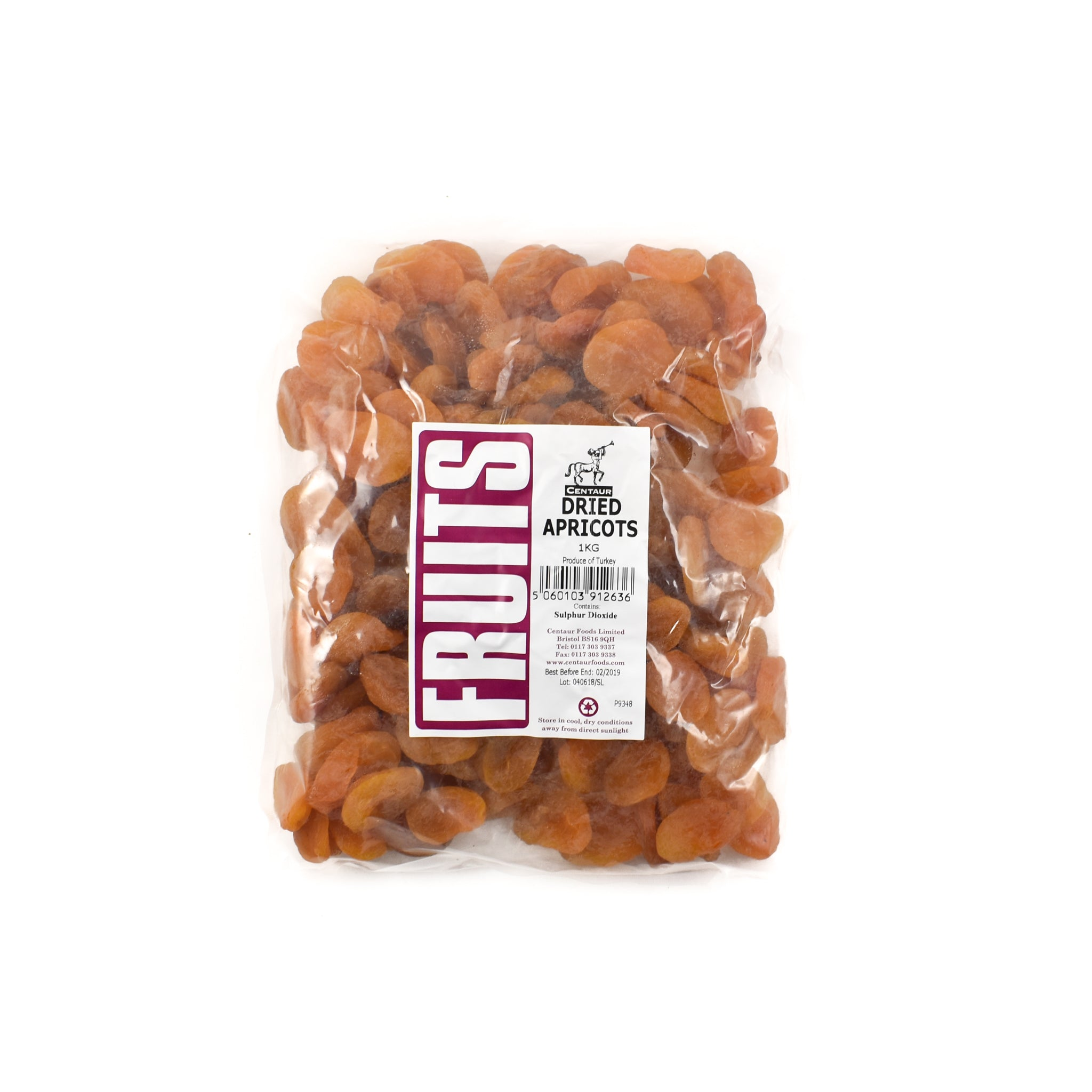 Centaur Dried Apricots 1kg Ingredients Baking Ingredients Dried & Preserved Fruit