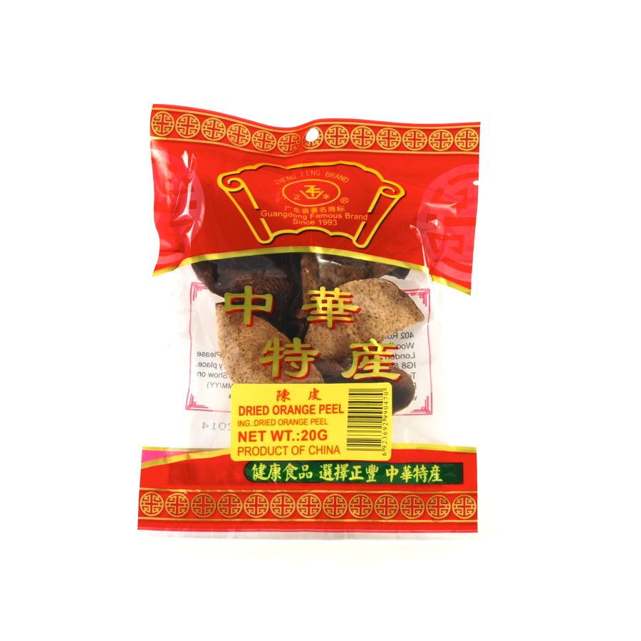 Zheng Feng Dried Orange Peel Ingredients Seasonings Chinese Food