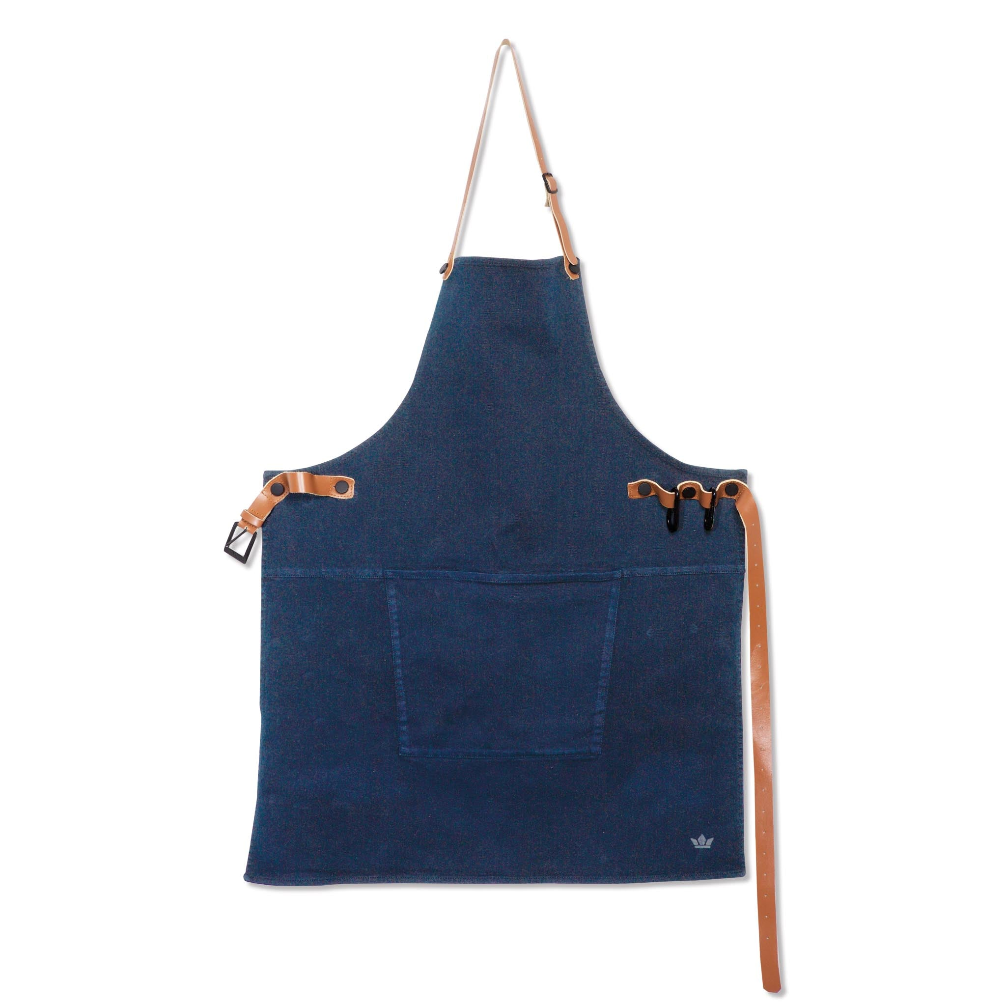 Dutchdeluxes Canvas BBQ Apron in Dark Blue Cookware Kitchen Clothing
