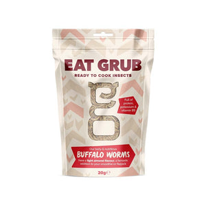 Edible Insects - Buffalo Worms