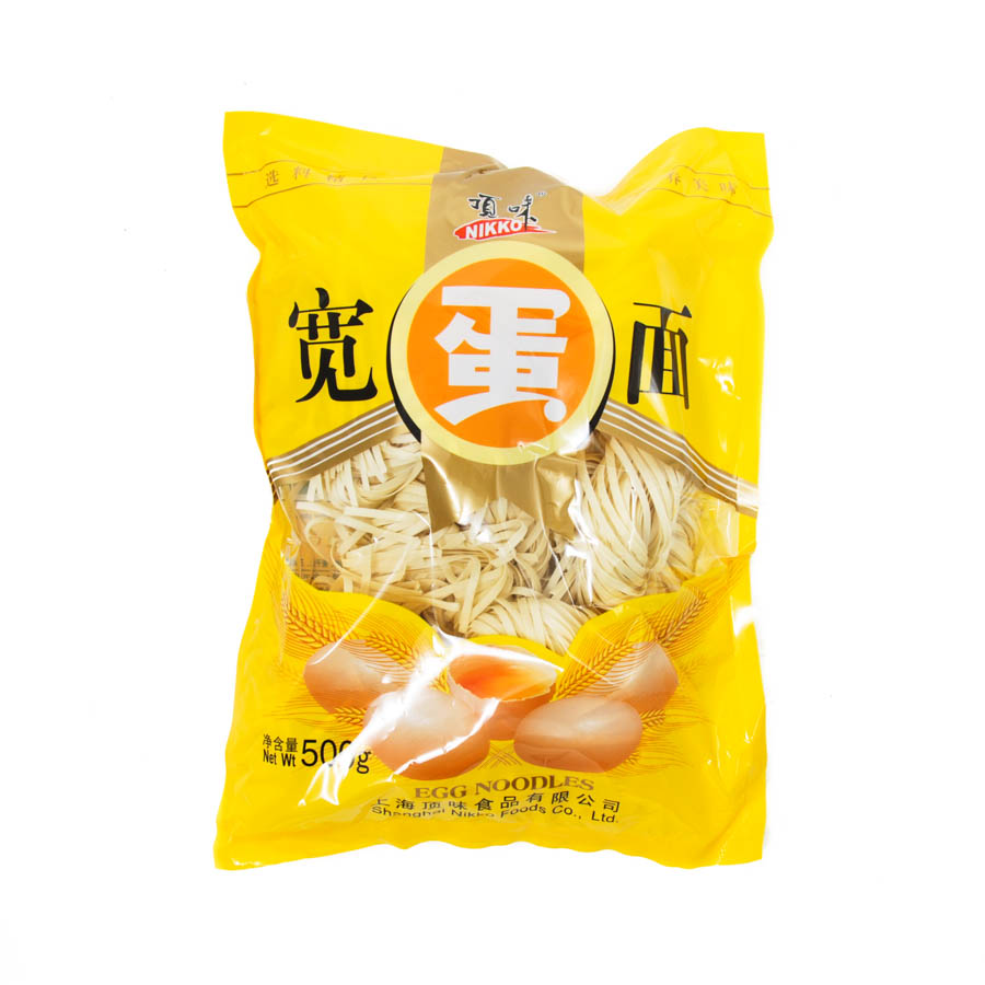 Nikko Egg Noodles 500g Ingredients Pasta Rice & Noodles Noodles Chinese Food