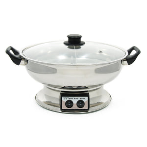 5l 2 In 1 Electric Hot Pot Grill Pot Pan Electric Cooker Home Multi-function Kitchen Pot Korean Cookware For Table Cooking Pots Products Hot Sale Cookware & Parts