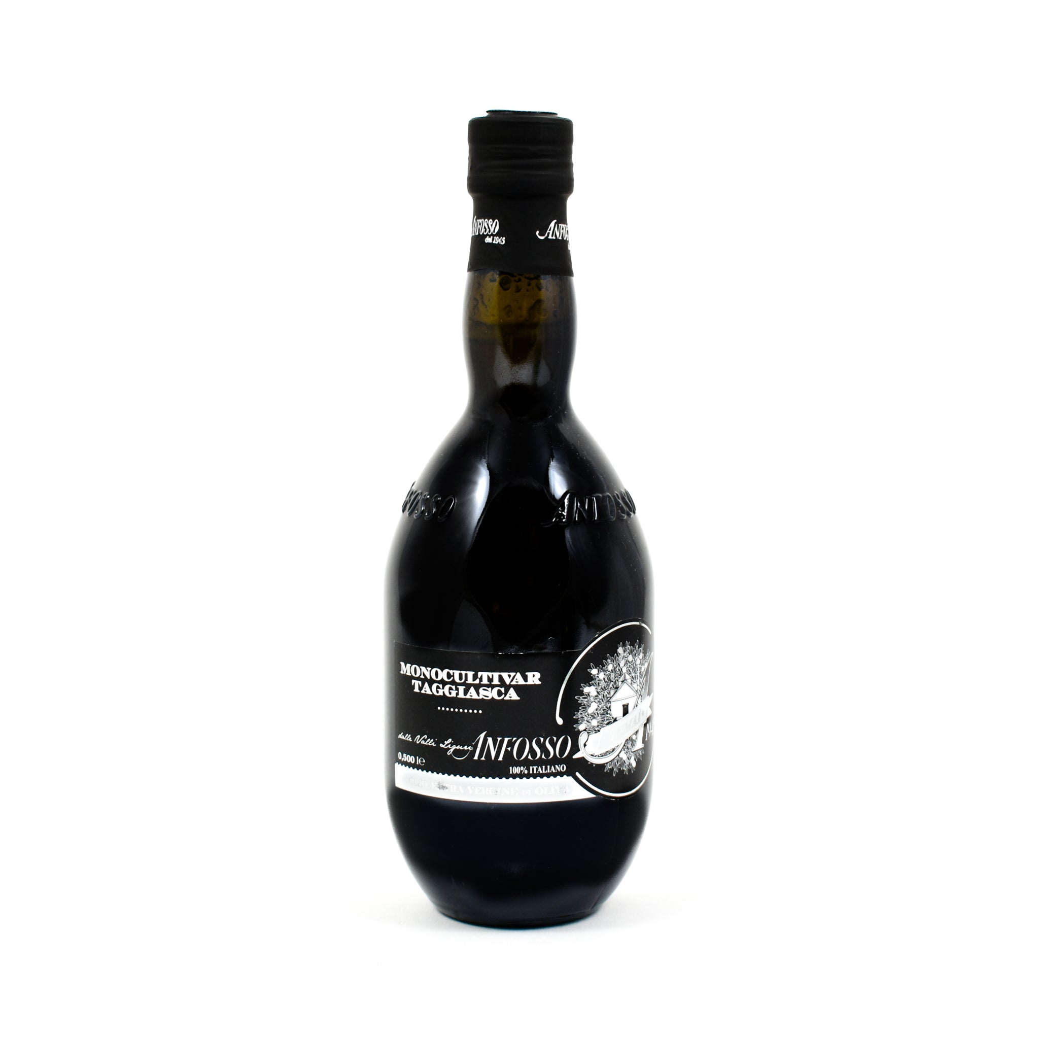 Monocultivar Taggiasca Anfosso Extra Virgin Olive Oil