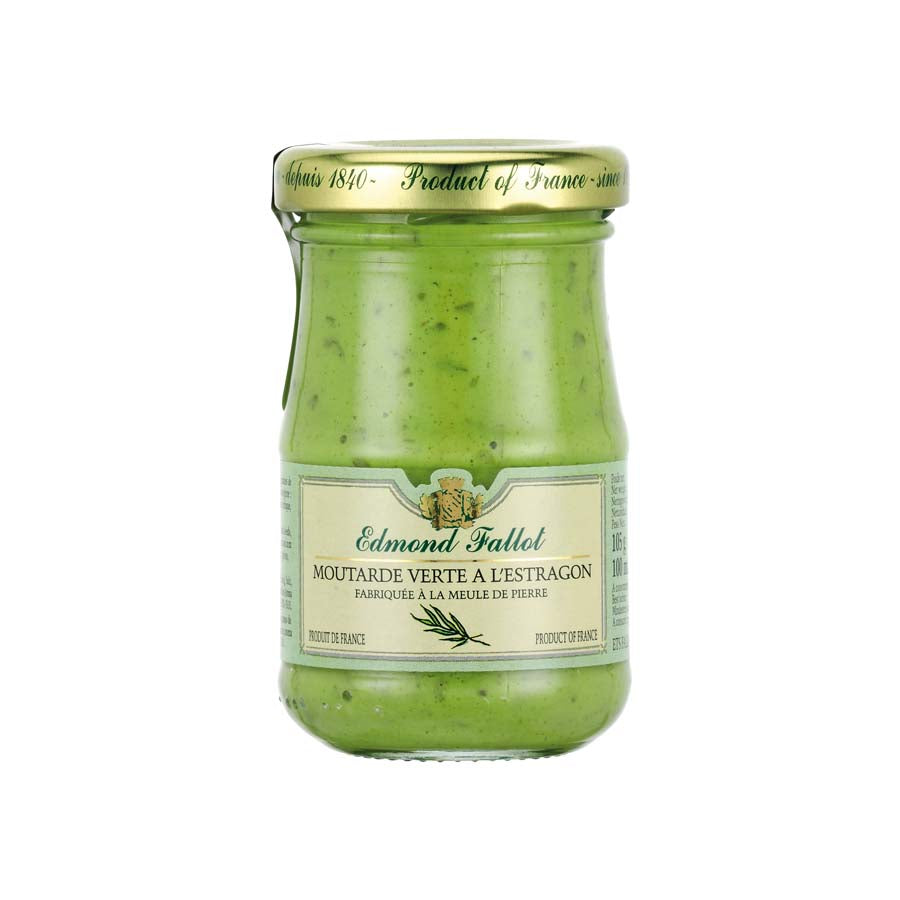 Fallot Dijon Mustard With Tarragon 105g Ingredients Sauces & Condiments French Food