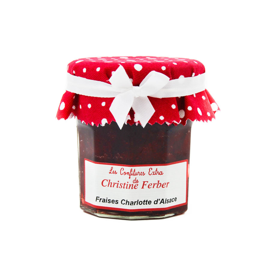 Christine Ferber Charlotte Strawberry Jam 220g Ingredients Jam Honey & Preserves French Food