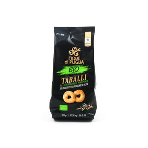 Fiore Di Puglia Organic Taralli with Extra Virgin Olive Oil