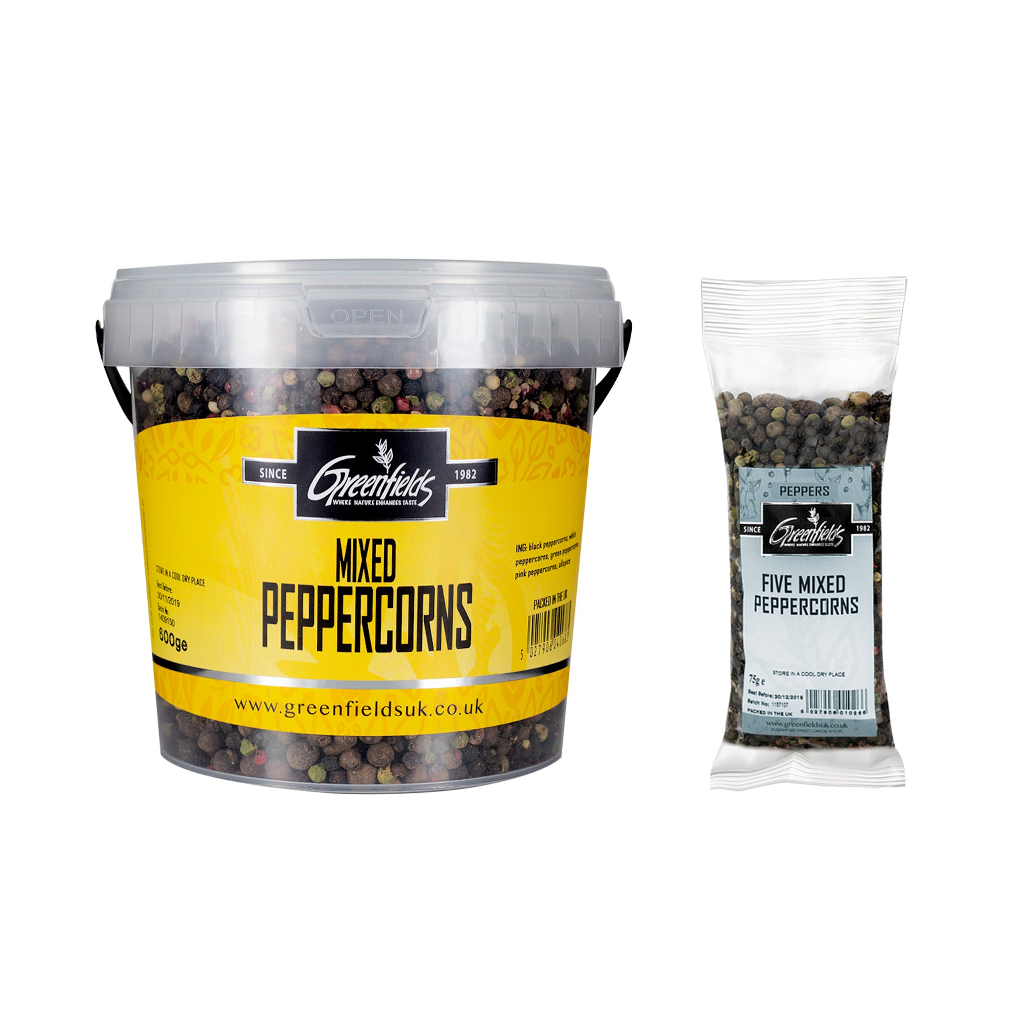 Greenfields Five Mixed Peppercorns