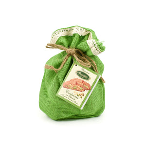 Flamigni White Chocolate & Pistachio Cantuccini Gift Bag