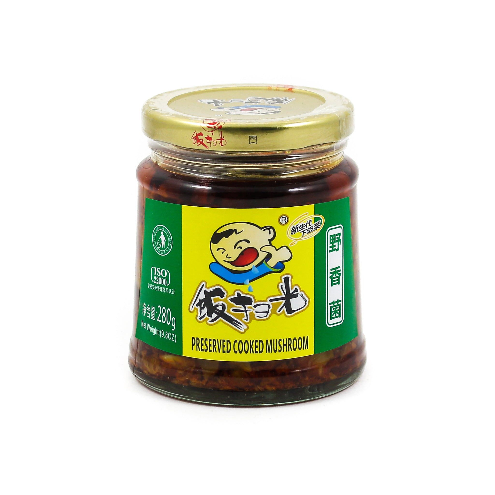 FSG Sichuan Preserved Cooked Fungus 280g Ingredients Sauces & Condiments Asian Sauces & Condiments Chinese Food