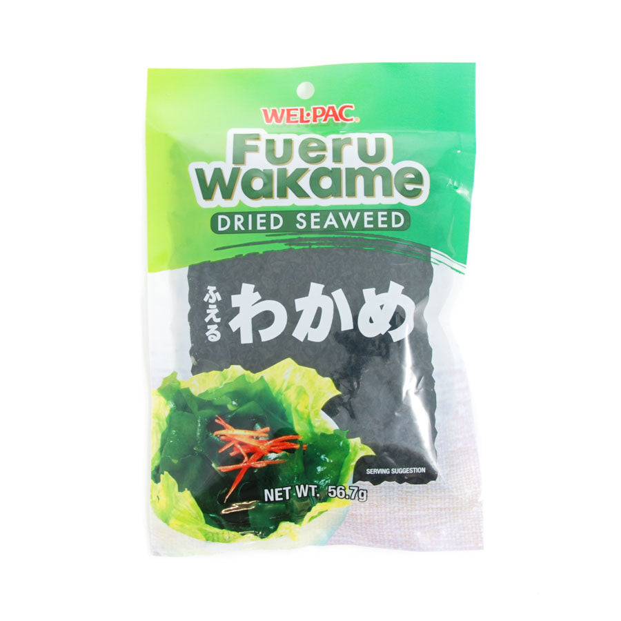 Fueru Wakame Seaweed 57g Ingredients Seaweed Squid Ink Fish