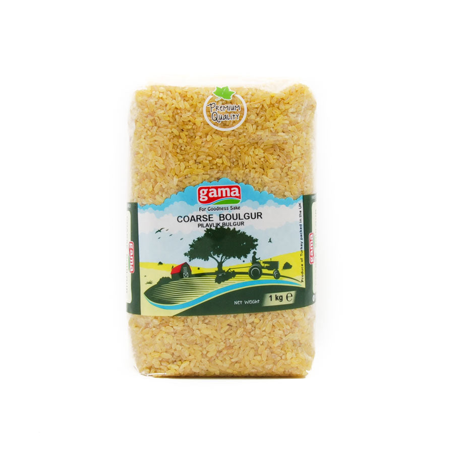 Gama Coarse Boulgur Wheat 1kg Ingredients Flour Grains & Seeds Middle Eastern Food
