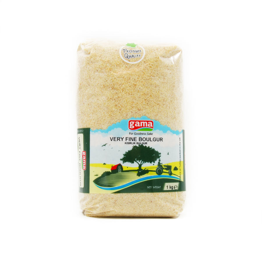 Gama Very Fine Boulgur Wheat 1kg Ingredients Flour Grains & Seeds Middle Eastern Food