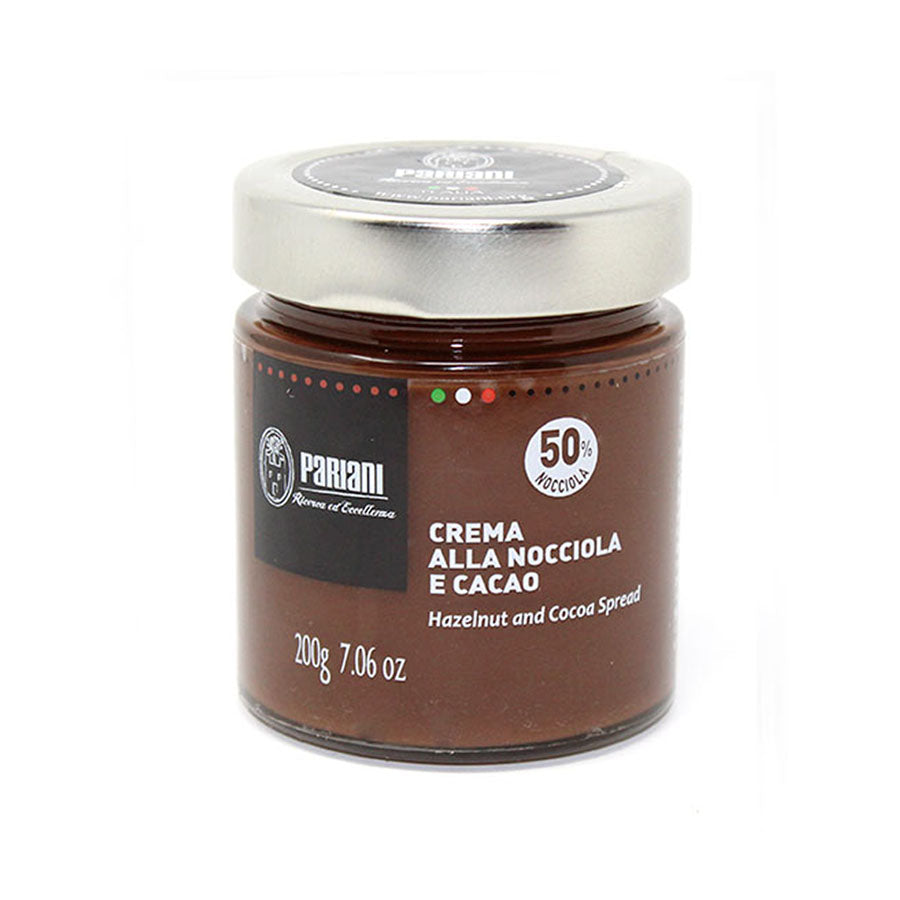 Pariani Piemonte Hazelnut Gianduja Spread 200g Ingredients Baking Ingredients Baking Nuts & Nut Pastes Italian Food