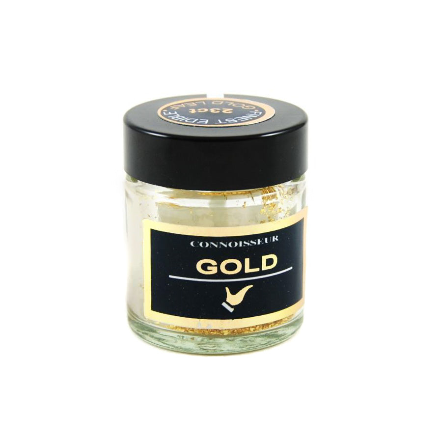 Connoisseur Edible Gold Leaf Dust 100mg Ingredients Baking Ingredients Baking Sugar & Decoration