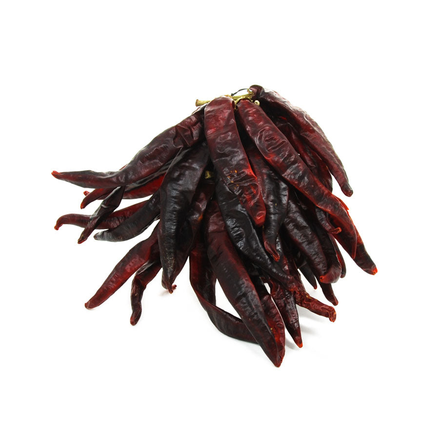 Brindisa Guindilla Pepper Ristra - String of 30 Ingredients Herbs & Spices Dried Chillies Spanish Food