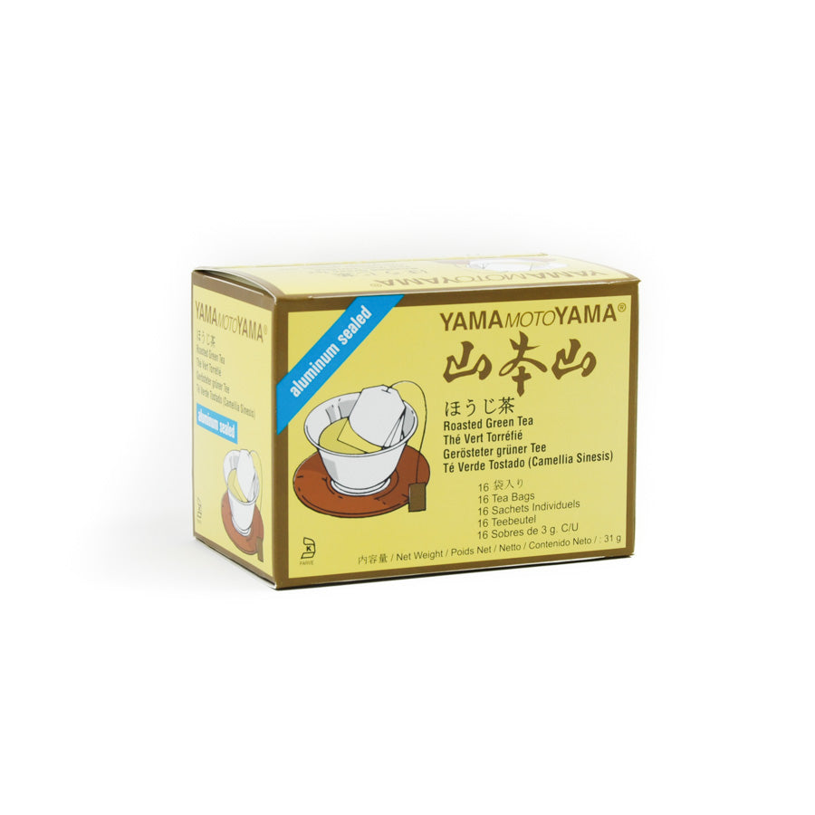 Yamamotoyama Hojicha Japanese Roasted Green Tea 100g Ingredients Drinks Tea & Coffee Japanese Food