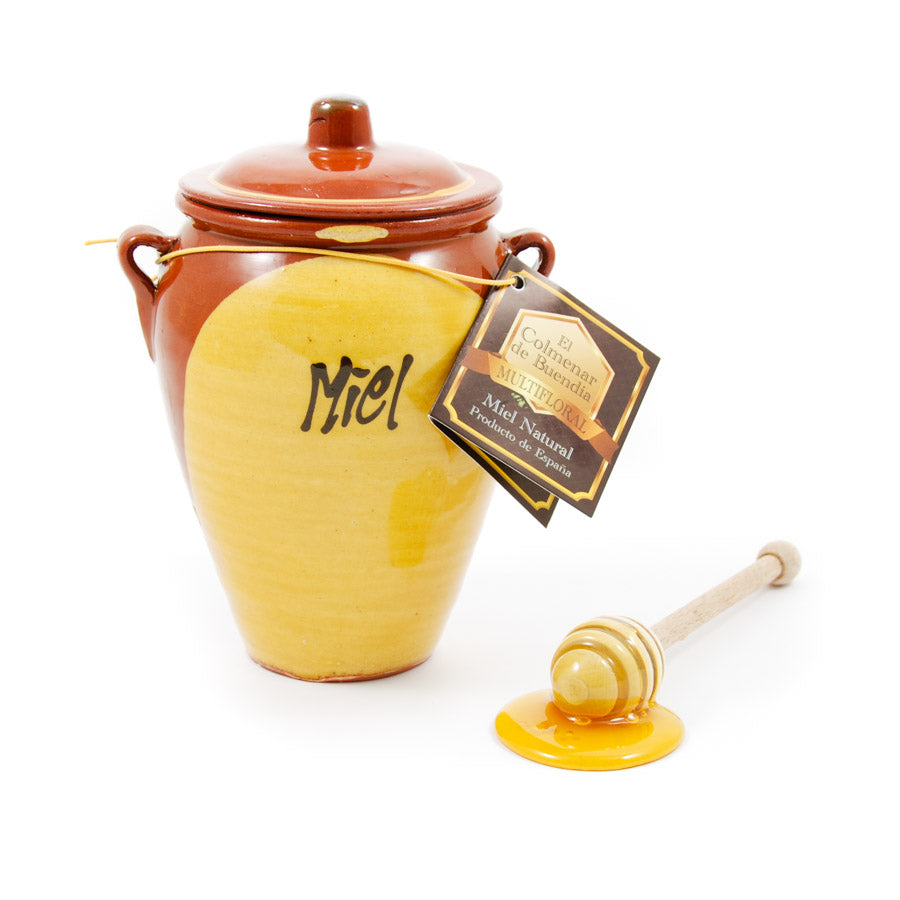 Colmeneros de la Alcarria Spanish Wildflower Honey In Terracotta Jar 200g Ingredients Jam Honey & Preserves Spanish Food