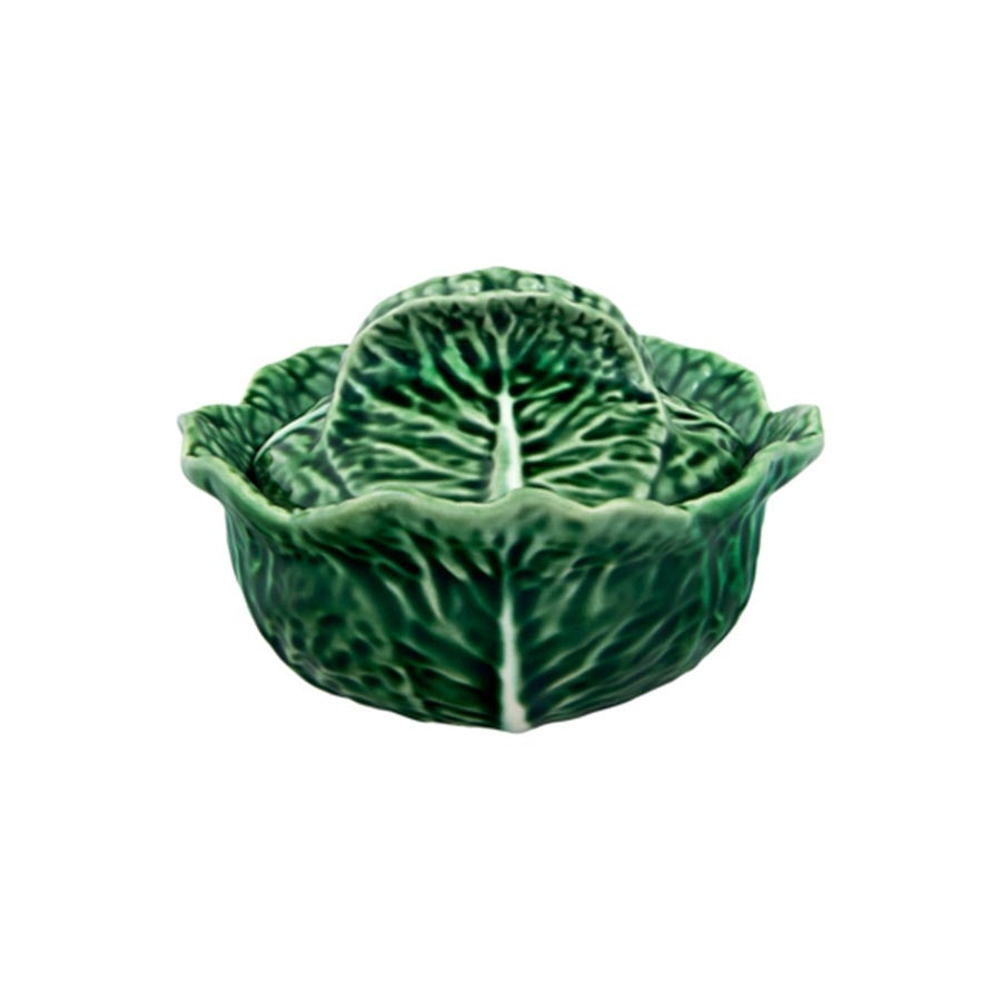 Bordallo Pinheiro Individual Cabbage Leaf Tureen Tableware