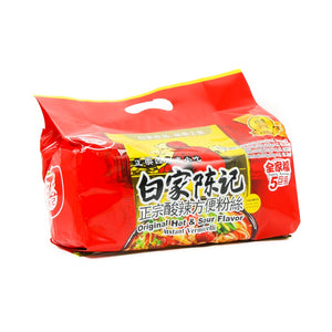 Instant Potato Vermicelli Noodles - Sour Hot 5 Packs