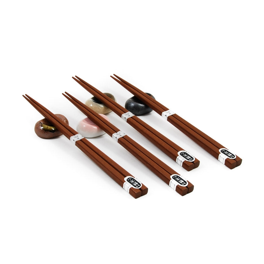 Japanese Chopstick & Rest Set - Multicolour