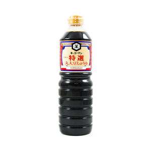 Kikkoman Traditionally Brewed Marudaizu Shoyu Soy Sauce 1l