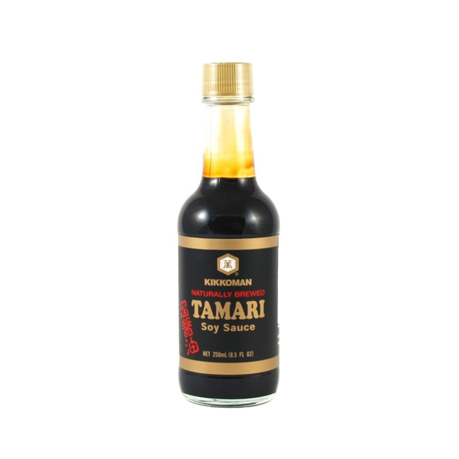 Kikkoman Tamari Soy Sauce - Shoyu 250ml Ingredients Sauces & Condiments Asian Sauces & Condiments Japanese Food